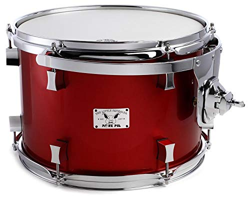 Pork Pie Percussion Little Squealer Tom - 9'' x 13'' Firethorn Red Lacquer