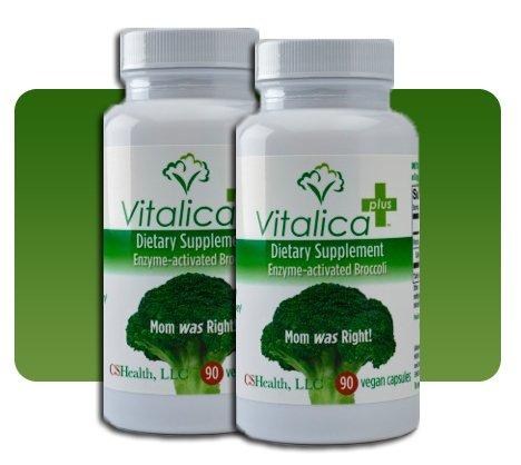 Vitalica Plus, Enzyme Activated Broccoli Supplement, 90 Capsules