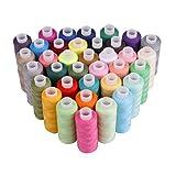 Luxbon 36 Spool Sewing Threads 250 Yard Each