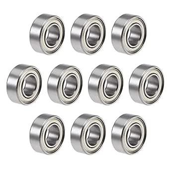4x R188ZZ 1//4in x 1//2in x 3//16in Metal Shielded Ball Bearing Bearings R188 NEW