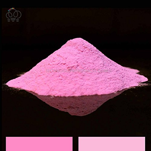 Cotton Candy Pink Glow in the Dark & UV Powder (1 kg) by Techno Glow Inc