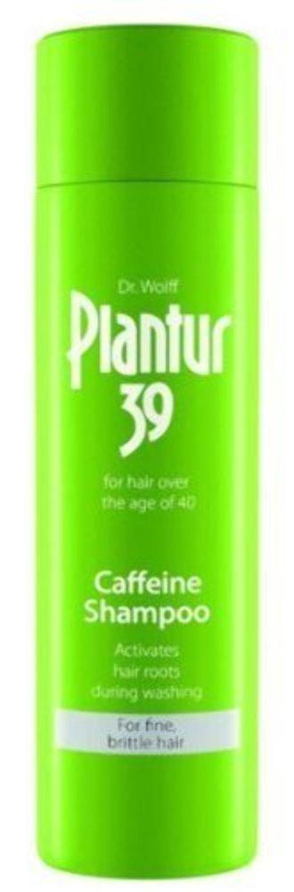Dr Wolff Plantur 39 Caffeine Shampoo For Fine/Brittle Hair 250ml (womens hair loss treatment) by Dr Dry