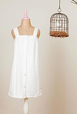 Luxury White Bridal Spa Wrap Plush Bathrobe Dressing Gown