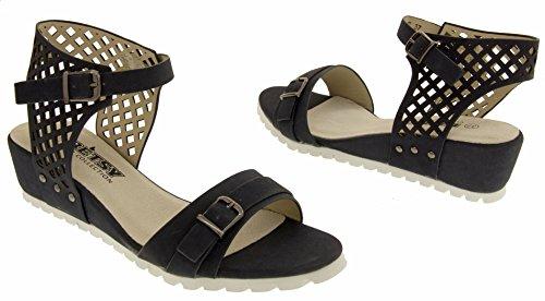 Été Femmes Sandales Wedge Studio Bleu Footwear Betsy pB6xn6A