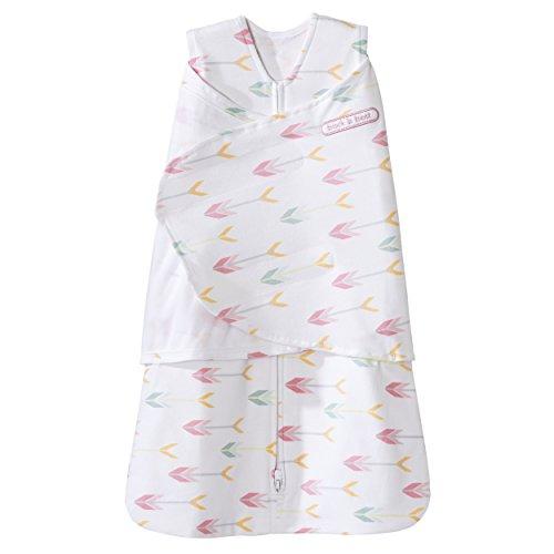 Halo Sleepsack 100% Cotton Swaddle, Pinky Arrow, Newborn