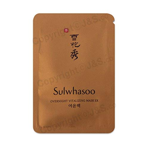 Sulwhasoo NEW Overnight Vitalizing Mask EX 4ml x 20PCS (Mask Sulwhasoo)