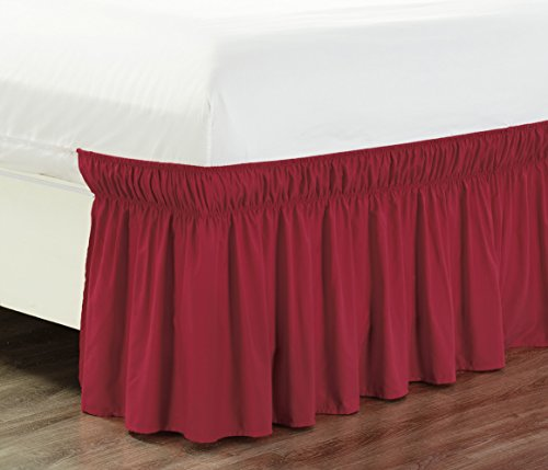 Burgundy King Ruffle (Wrap Around 18