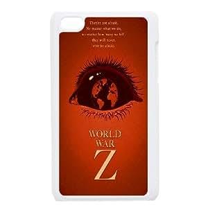 Ipod Touch 4 Phone Case White World War Z W6880234