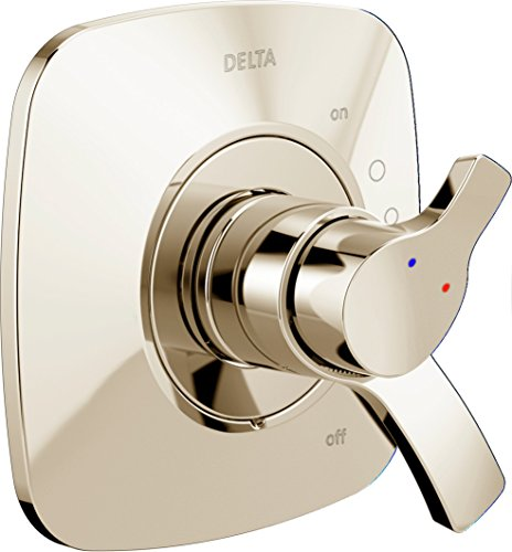 Delta Faucet T17T052-PN Tesla Tempassure 17T Series Valve Trim, Polished Nickel