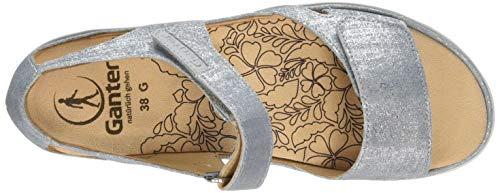 Donna Cinturino Gina 34000 Ganter Blu Con Alla g jeans Caviglia Sandali dW0Wwa1Fnq