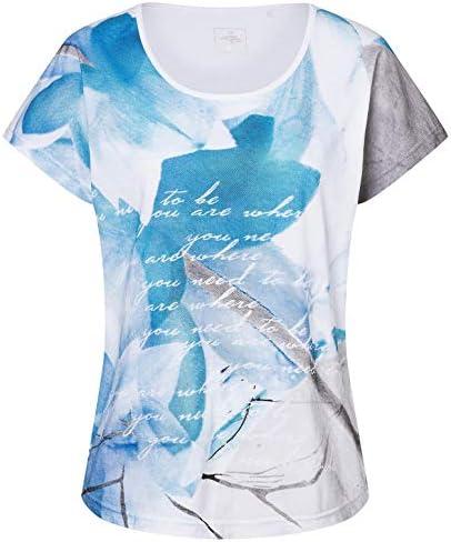 Linea Primero Edda – damski t-shirt z mieszanki bawełny i poliestru: Sport & Freizeit
