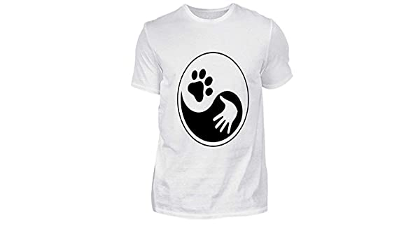 Chorchester El Yin y el Yang de los Perros - Camisa de Hombre: Amazon.es: Ropa y accesorios