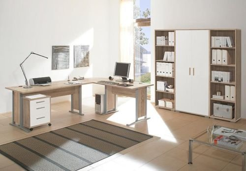 Super Xxl Set Buromobel Office Line Luxo 9 Teilig Mobel Direkt