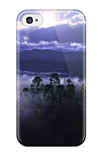 New Style 5417795K46093147 Perfect Tpu Case For Iphone 4/4s/ Anti-scratch Protector Case (tree Cgi)