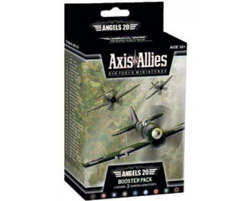 Wizards of the Coast Axis and Allies Miniatures Angels 20 Air Force Booster Game Set (Miniatures Axis And Allies)