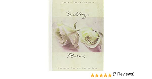 Workbook diagramming worksheets : Goble and Shea's Complete Wedding Planner: Kathleen Goble, Cecily ...