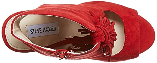 7 Rojo Steve Sandalias 37 US tacón de Madden EU 6r6wS8n