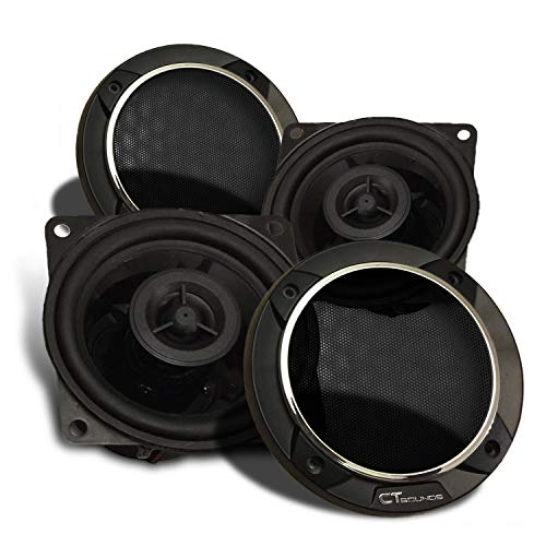 CT Sounds Strato 4 Inch Car Audio Coax Door Speaker Set - Pair by CT Sounds