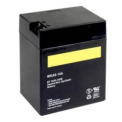 WKA6-14A Genuine Battery (Sealed Gel Cell Batteries)
