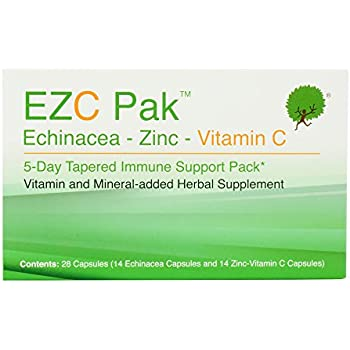 Amazon Com Ezc Pak 5 Day Immune Support Boost For Cold And Flu