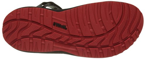Teva M Winsted Solid, Zapatillas de Atletismo para Hombre Multicolor (Black /RED BRD)