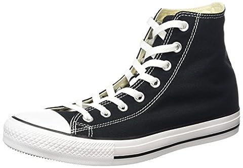 Converse All Star Hi Unisex Style Sneakers, Black, Men's 7 Women's 9