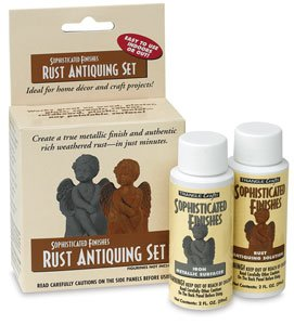 (Triangle Coatings Sophisticated Finishes Rust Antiquing Set antiquing set)