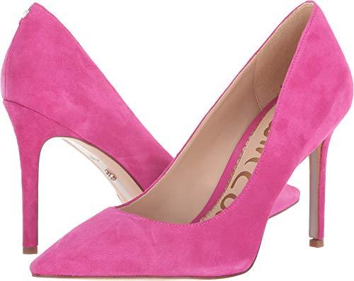 - Sam Edelman Women's Hazel Retro Pink Kid Suede Leather 4 M US M