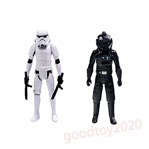 [Star Wars Rebels Tie Pilot & Stormtrooper Action Figure Without Box] (Star Wars General Grievous Child Costumes)