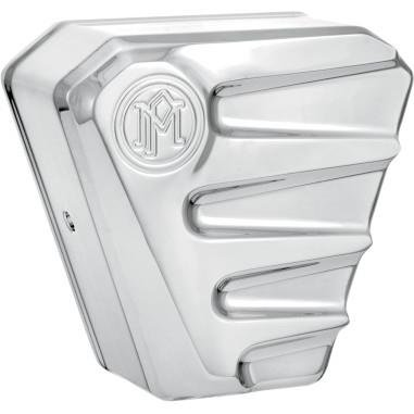 Performance Machine Scallop Chrome Horn Cover 0218-2001SCA-CH