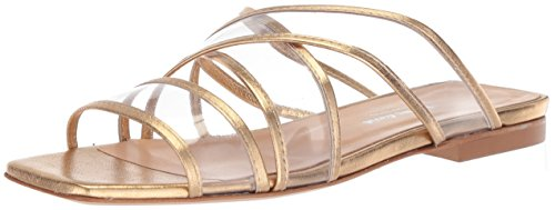 (CHARLES DAVID Women's Drea Pump, Gold, 38 M EU (8)