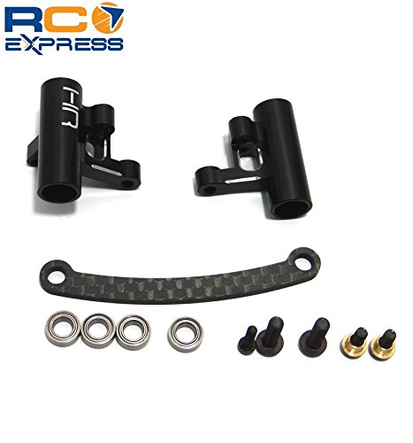 Aluminum Steering System (Hot Racing OFE48G01 Aluminum & Carbon Fiber Steering System W/ Bearings -)