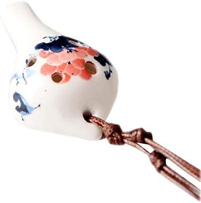 中国陶器のオカリナ6ホールオカリナ、子供のための教育玩具