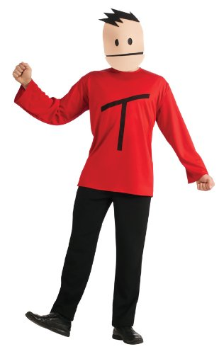 South Park Terrance Costume, Red, One (South Park Halloween Masks)