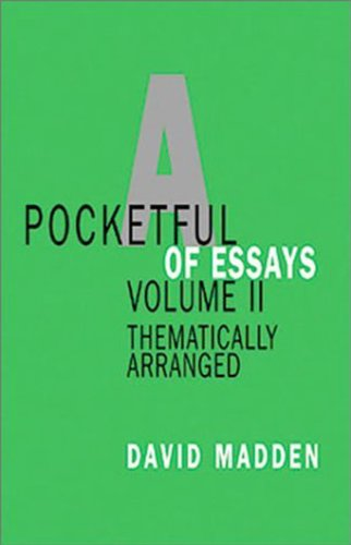 Pocketful of Essays, Volume II: Thematically Arranged