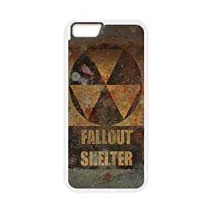Unique Design Cases iPhone 6 4.7 Inch Cell Phone Case White fallout shelter game Dlbeq Printed Cover Protector