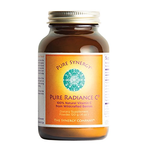 Pure Synergy Pure Radiance C (4 oz Powder) 100% Natural Vitamin C from Fruits & Berries, Non-GMO