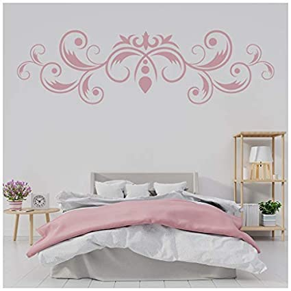 Amazon.com: banytree Fleur De Lis Wall Sticker Leaf ...