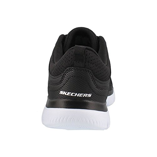 US 11 Suited Summits Skechers Wide Women's W up Blk Lace WHT Sneaker aTqPfqgw