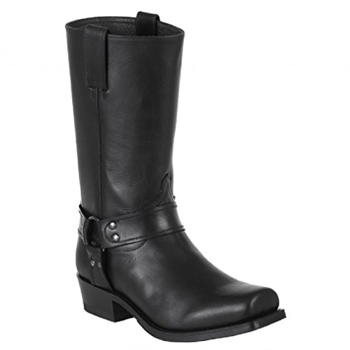 Sendra Boots 8833m Schwarz * Incl. Zanzara Originale ® Stiefelknecht *