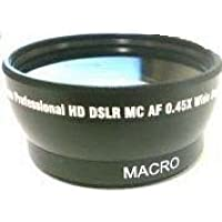 Wide Lens for Panasonic HDCHS250, Panasonic AG-HSC1UP, Panasonic AGHSC1UP, Panasonic AG-HSC1, Panasonic HDCSD20PC, Panasonic HDC-SD20P