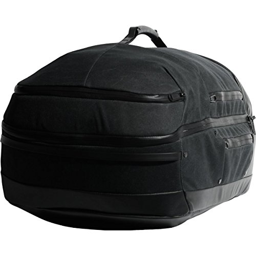 Alchemy Equipment Carry On Luggage Black Waxed Kodra 45L by Alchemy Equipment