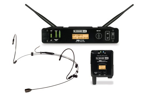 Line 6 XD-V75HS Digital Wireless System with Bodypack Transmitter and Tan Headset (Line Vocal)