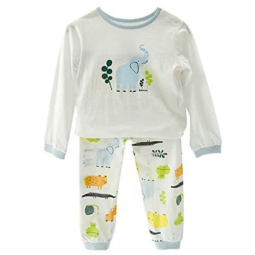 CHERSH Ropa for niños, Traje de chándal Pijamas bebé bebés del ...