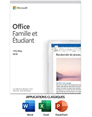 Microsoft Office Home & Student 2019 | French | 1 Device | PC/Mac Key Card