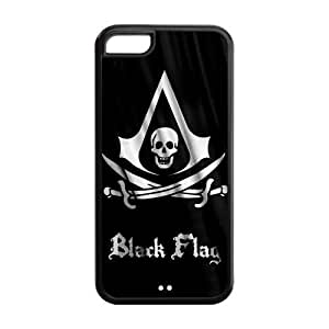 MEIMEIiphone 6 4.7 inch Phone Cases, Black Flag Hard TPU Rubber Cover Case for iphone 6 4.7 inchMEIMEI