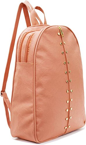 Typify Studded Casual Fashion School Leather Backpack