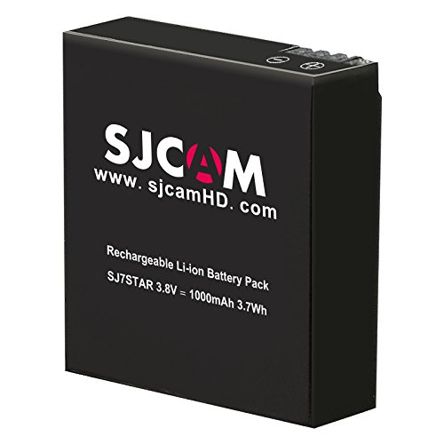 SJCAM Replacement 1000mAh Action Camera Battery for SJ7 Star Sports Action Camera