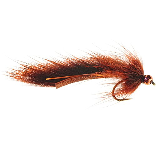 Umpqua pine squirrel leech 12 fly fishing streamers for Amazon fly fishing