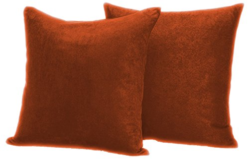 faux-suede-2-pack-decorative-pillow-covers-16x16-copper